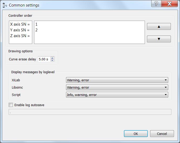 5 2 3  XILab Main window in multi-axis control mode — 8SMC5-USB User